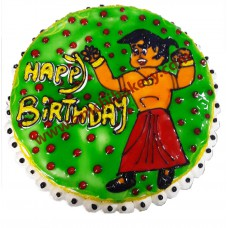 Chota bheem on cake